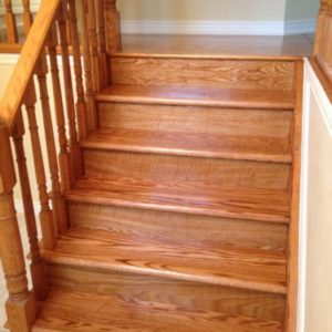Stairs with Finish