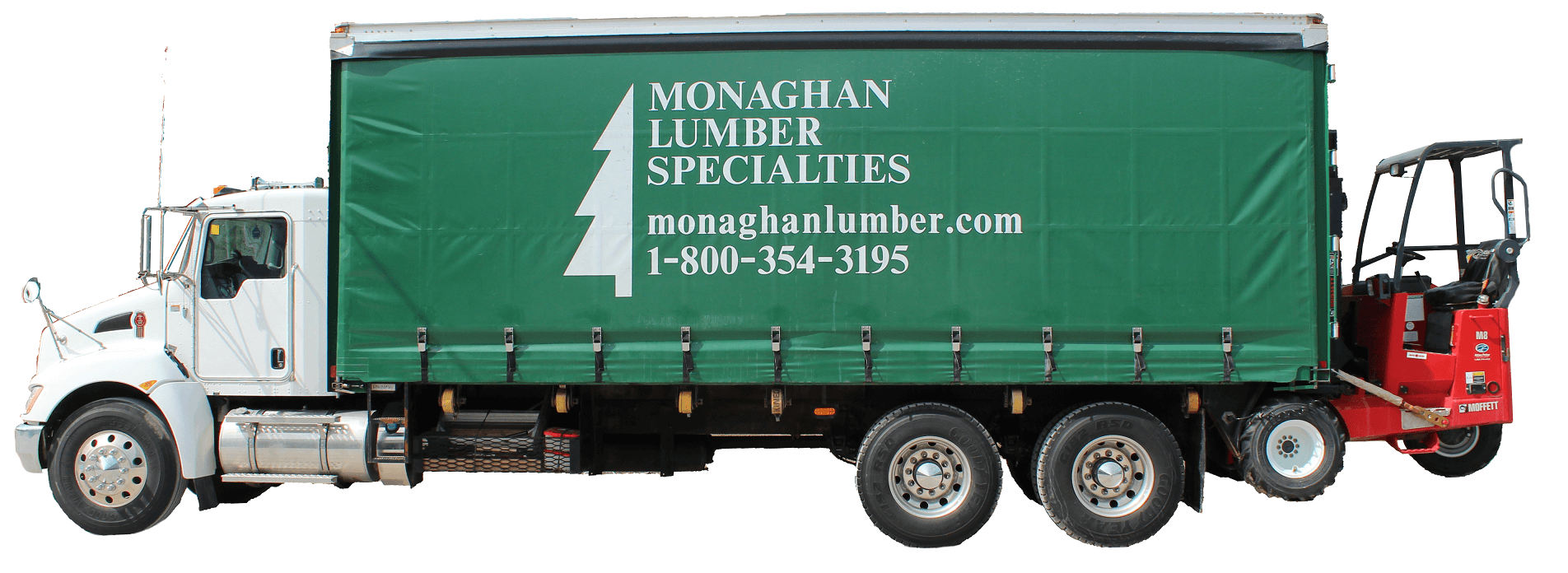 Delivery Monaghan Lumber Specialties