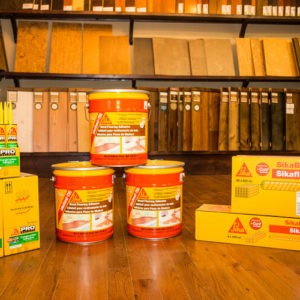photo of adhesive's for flooring