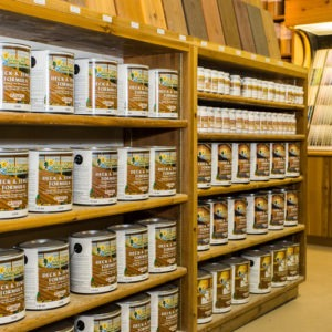 photo of Timber Pro on shelves