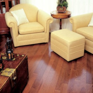 photo of smooth hickory flooring