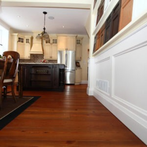 Craft Reclaimed Heart Pine Flooring - Saddle