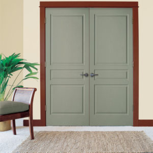 photo of 3 panel double doors