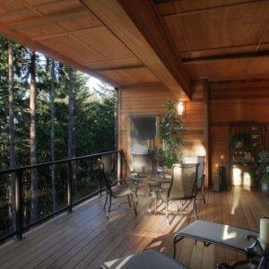 photo of Red Cedar porch