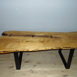 Live Slab Table with Finish
