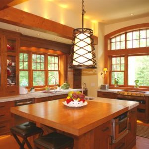 photo of wood windows