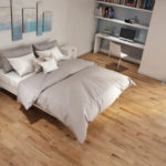 photo of smooth red oak flooring