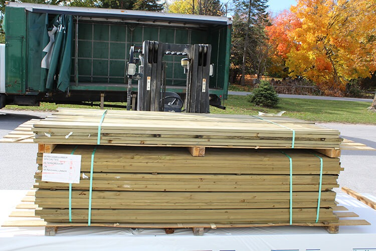 Spruce Strapping Monaghan Lumber Specialties