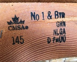 photo of douglas fir grade stamp