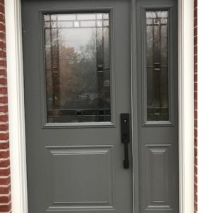 photo of steel entrance door by KV
