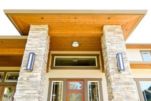 photo of Woodtone RealSoffit - Texas Honey Brown
