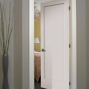 photo of single panel door