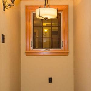 Fir Window and Moulding