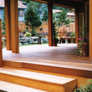 photo of Timber Pro on wood deck