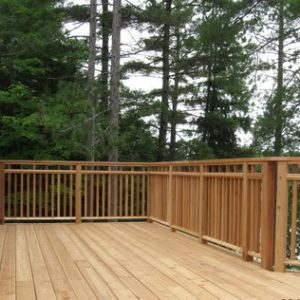 photo of Red Cedar Decking & Handrail