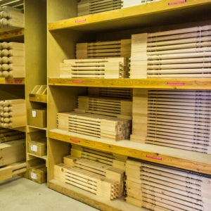Wood Spindles Stock