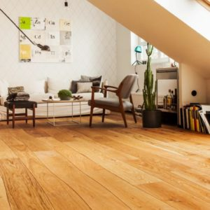 photo of wavey edge white oak flooring