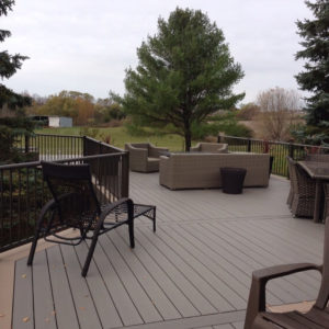 photo of Lumberock Decking w/ Century Handrail