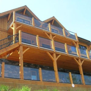 photo of Century Railing with Cedar Posts