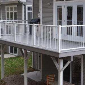 photo of Century Aluminum Picket Railing