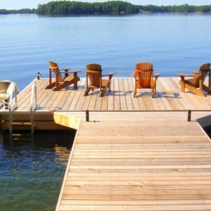 photo of Western Red Cedar Dock