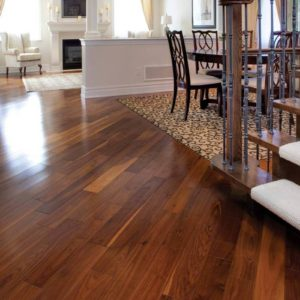 photo of Walnut flooring - Natural
