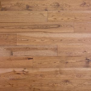 photo of handscraped hickory flooring