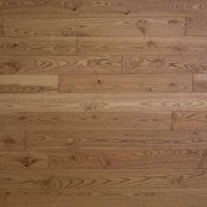 photo of wire brushed ash flooring