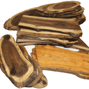 Kiln Dried Serving Trays & Charcuterie Boards - finished with food safe beeswax & mineral oil