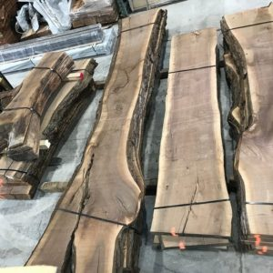 photo of 10/4 live edge Walnut slabs (kiln dried)