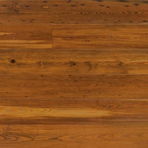 photo of reclaimed heart pine flooring