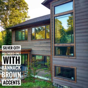 Ghostwood Siding - Silver City Siding & Bannack Brown Trimi