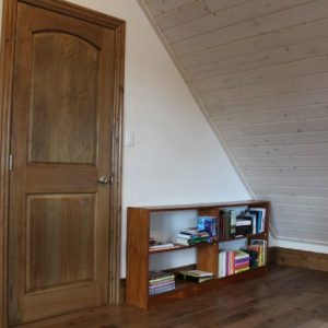 photo of Preverco Ash - Gunstock Flooring, Jeldwen Door, Pine Trim and Prefinished Pine V-Joint from Woodtone