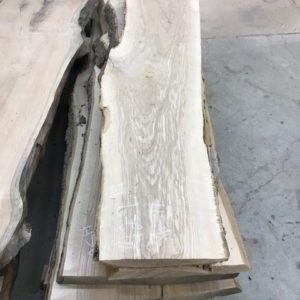 photo of 10/4 live edge Ash slabs, sanded and kiln dried