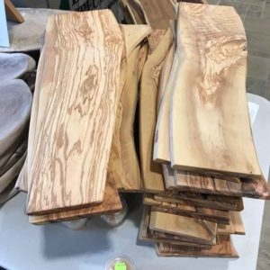 photo of Olivewood cutting boards/charcuterie boards