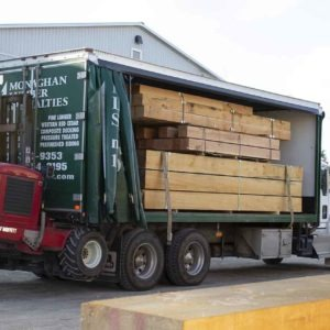 photo of Pine timbers on truck