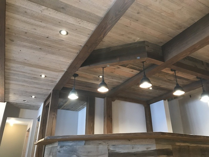 Barn Board Ceiling for homes in peterborough